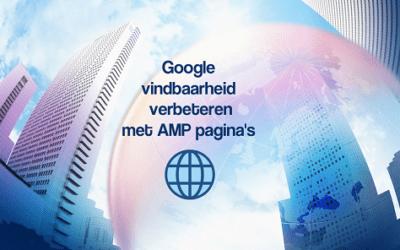 Google vindbaarheid verbeteren met AMP pagina's