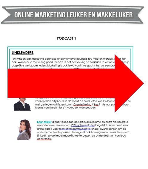 Online marketing visie