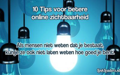 10 tips voor betere online zichtbaarheid