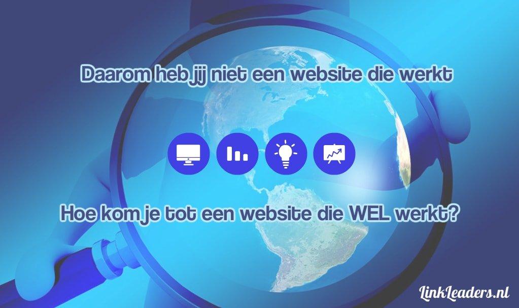 Een website die werkt; Klanten werven; Leads genereren