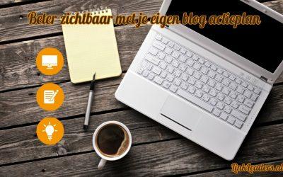 Goed gevonden met je eigen blog planning