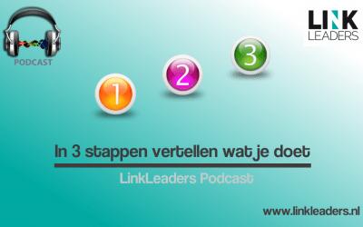 Podcast 8: In 3 stappen vertellen wat je doet