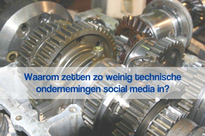 Technische ondernemingen en Social media