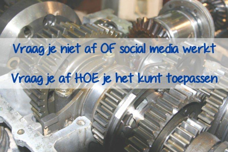 Social media voor industriele bedrijven