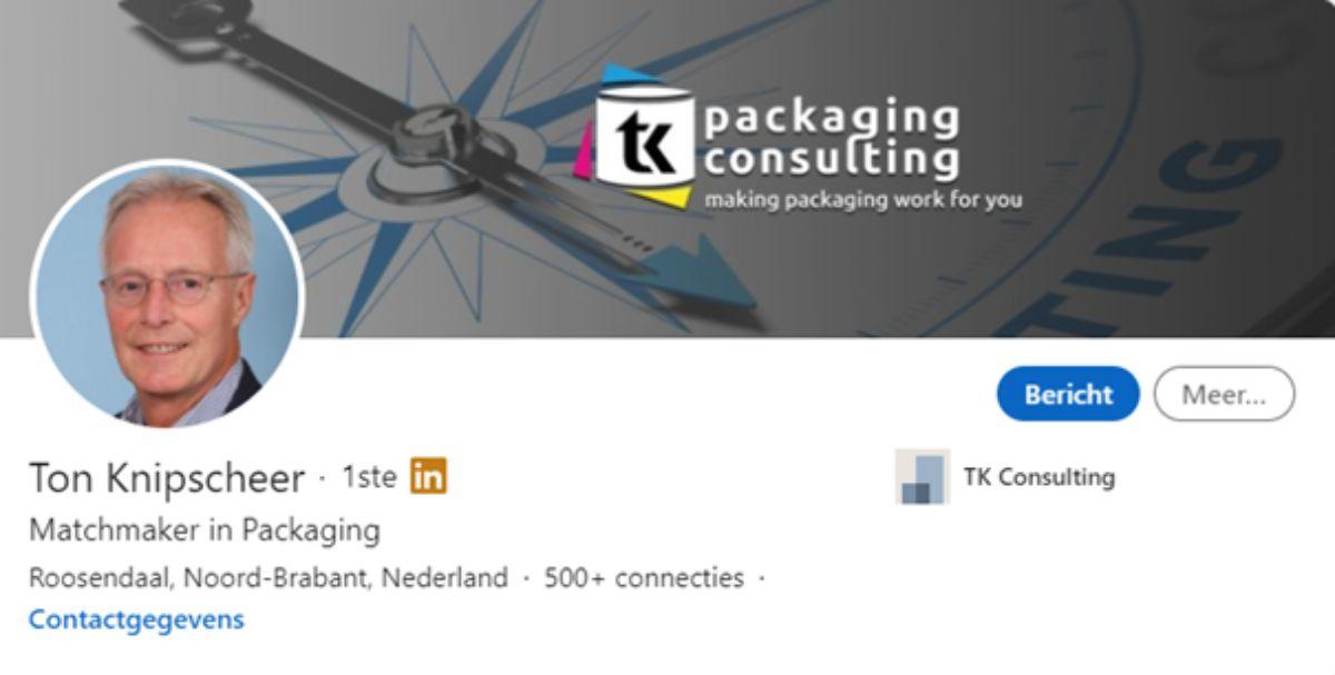 Linkedin header image Ton Knipscheer