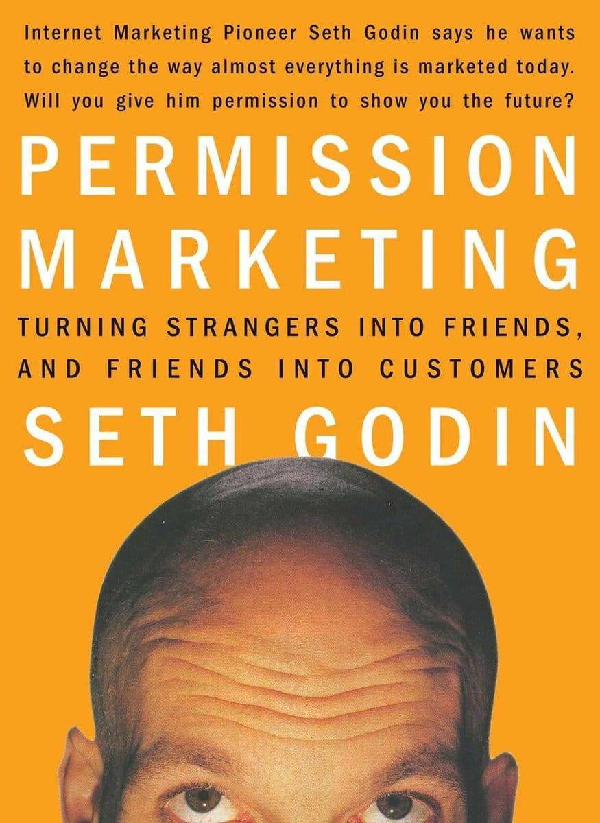 Seth Godin - Permission Marketing bol